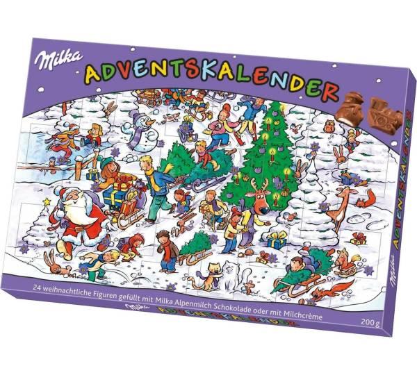 Milka Weihnachtskalender.Adventskalender