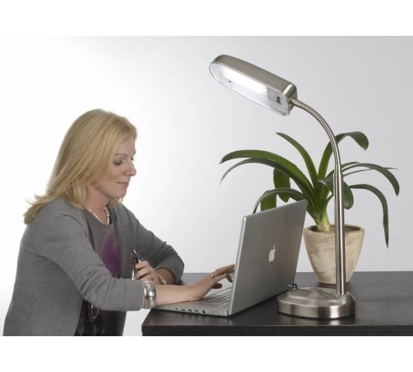 androv medical lux vollspektrum tageslicht schreibtischlampe. Black Bedroom Furniture Sets. Home Design Ideas