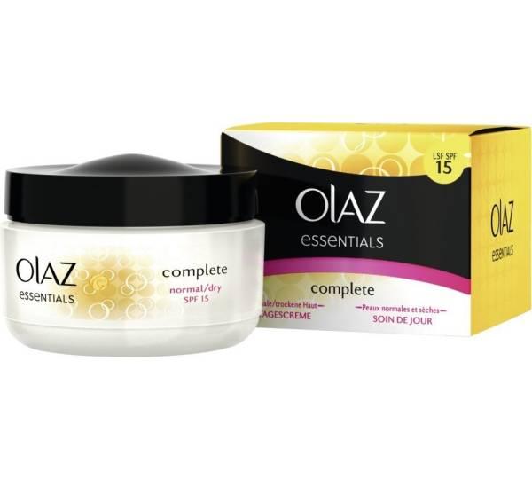 Olaz Essentials Complete Tagescreme Test Testberichtede