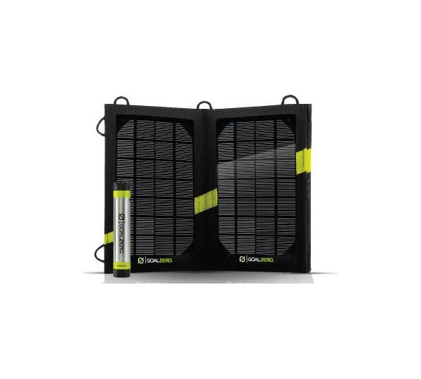 goal zero switch 8 solar recharging kit test solarladeger t. Black Bedroom Furniture Sets. Home Design Ideas