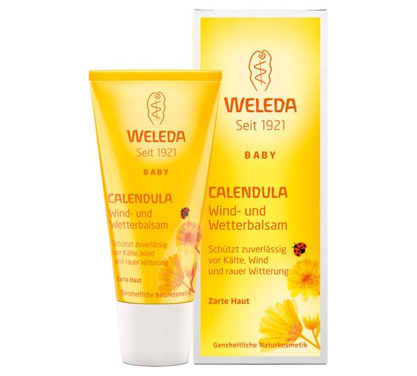 weleda baby kind calendula wind und wetterbalsam test. Black Bedroom Furniture Sets. Home Design Ideas