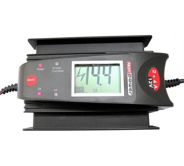 profi power automatik ladeger t lcd 12v test. Black Bedroom Furniture Sets. Home Design Ideas