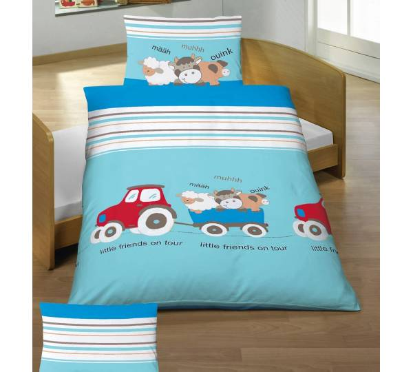 baby butt renforc bettw sche friends blau test. Black Bedroom Furniture Sets. Home Design Ideas