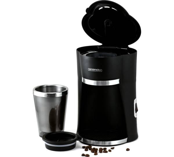 arendo 1 cup schnellkoch kaffeemaschine to go. Black Bedroom Furniture Sets. Home Design Ideas
