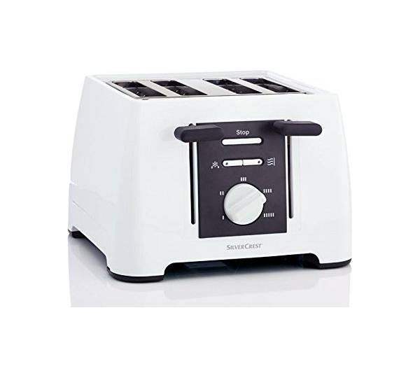 lidl silvercrest 4 schlitz toaster. Black Bedroom Furniture Sets. Home Design Ideas