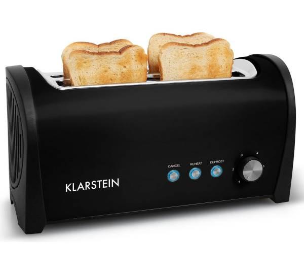 klarstein cambridge doppel langschlitz toaster test. Black Bedroom Furniture Sets. Home Design Ideas