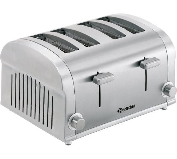 bartscher 4 scheiben toaster silverline 100202. Black Bedroom Furniture Sets. Home Design Ideas