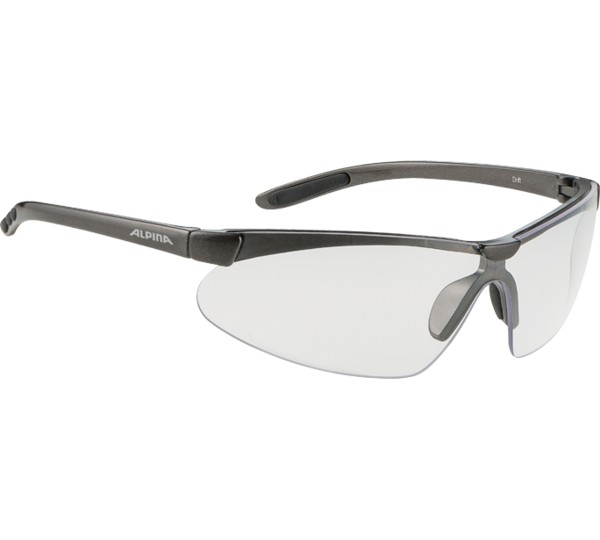 Alpina Fahrradbrille Drift, Silver, One size, A 8245 3 21