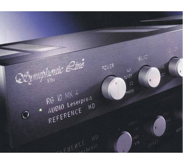 Symphonic Line RG 10 MK 4 Reference HD Master Test ...