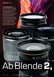 COLOR FOTO: Ab Blende 2,8 (Ausgabe: 4)