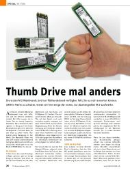 PC Games Hardware: Thumb Drive mal anders (Ausgabe: 7)