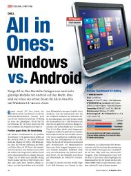 PC Magazin: All in Ones: Windows vs. Android (Ausgabe: 7)