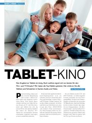 CONNECTED HOME: Tablet-Kino (Ausgabe: 6)