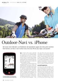 iPhoneWelt: Outdoor-Navi vs. iPhone (Ausgabe: 4)