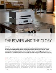 HomeElectronics: The power and the glory (Ausgabe: 11-12/2014)