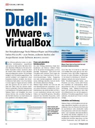 PC Magazin: Duell: VMware vs. VirtualBox (Ausgabe: 2)