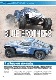 CARS & Details: Blue Brothers - Brushlesspower serienmäßig (Ausgabe: 9)