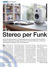 stereoplay: Stereo per Funk (Ausgabe: 7)