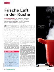 Stiftung Warentest (test): Frische Luft In Der Küche (Ausgabe: 3)