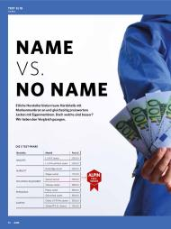 ALPIN: Name vs. No Name (Ausgabe: 8)