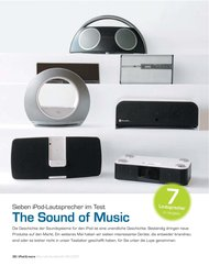 iPod & more: The Sound of Music (Ausgabe: 4)