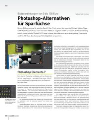 DigitalPHOTO: Photoshop-Alternativen für Sparfüchse (Ausgabe: 12)