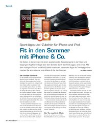 iPhone & more: Fit in den Sommer mit iPhone & Co. (Ausgabe: 3)