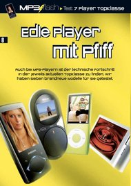 MP3 flash: Edle Player mit Pfiff (Ausgabe: 1)