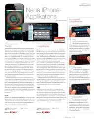 Beat: Neue iPhone-Applikations (Ausgabe: 3)