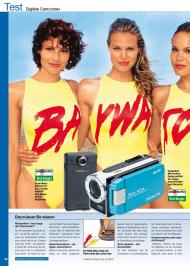 "Audio Video Foto Bild: ""Badenixen"" - Digitale Camcorder (wasserdicht) (Ausgabe: 8)"