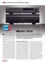 HiFi Test: Music first (Ausgabe: 3/2012 (Mai/Juni))