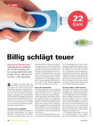 Testbericht Uber 14 Elektrische Zahnbursten Unterschiedlicher Betriebsarten In Stiftung Warentest 4 2013 Testberichte De
