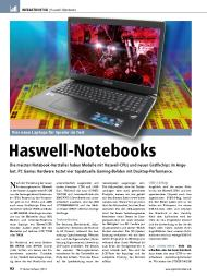 PC Games Hardware: Haswell-Notebooks (Ausgabe: 8)