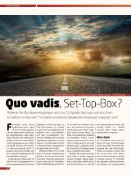 video: Quo vadis, Set-Top-Box? (Ausgabe: 7)