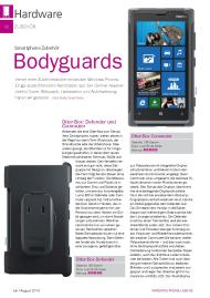 Windows Phone User: Bodyguards (Ausgabe: 4/2013 (Juli/August))