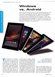 Tablet und Smartphone: Windows vs. Android (Ausgabe: Nr. 3 (September-November 2013))