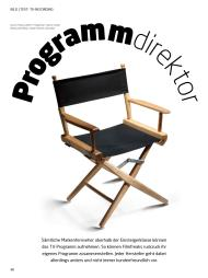 video: Programmdirektor (Ausgabe: 10)